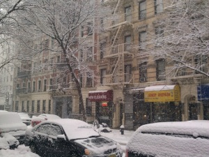 Winter 2011 In NYC